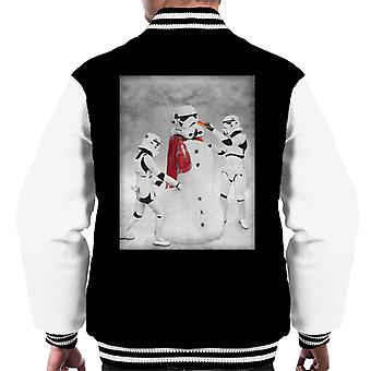 Original Stormtrooper Christmas Snow Trooper Men's Varsity Jacket