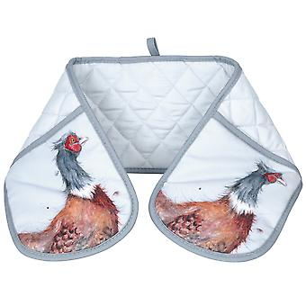 Wrendale Pheasant Double Oven Glove