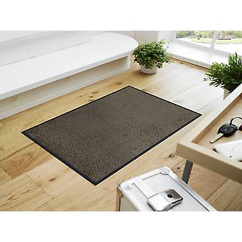 wash + dry mat of taupe - beige grey
