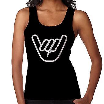 Shaka Hand Symbol női ' s Vest