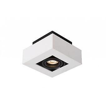 Яйца lucide Xirax современной площади алюминий белый и черный потолок спот освещение