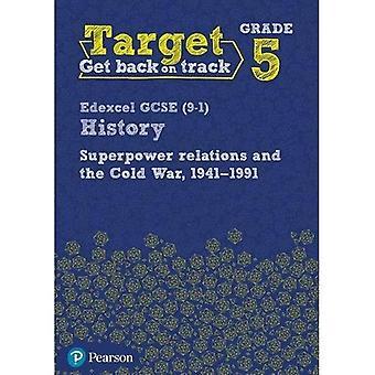 Ziel der 5. Klasse Edexcel GCSE (9-1) Geschichte Supermacht Beziehungen und des Kalten Krieges. 1941-91 Intervention Arbeitsmappe - Geschichte Intervention