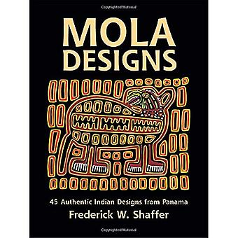 Mola Designs: 45 Authentic Indian Designs from Panama (Dover Pictorial Archives)