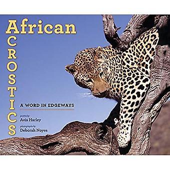 Acrostici africane: Una parola Edgeways