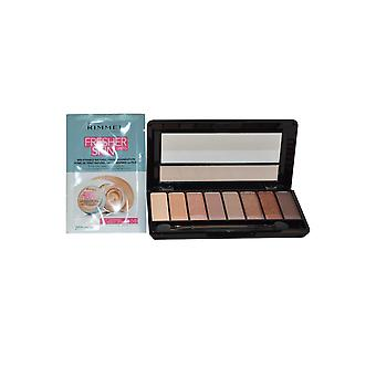 Rimmel London Magnifeyes / Magnif'Eyes Eye Contouring Palette 7g London Nudes Calling + Free Make Up