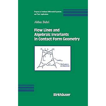 Fließen Sie, Linien und algebraischen Invarianten im Kontaktformular Geometrie von Bahri & Abbas