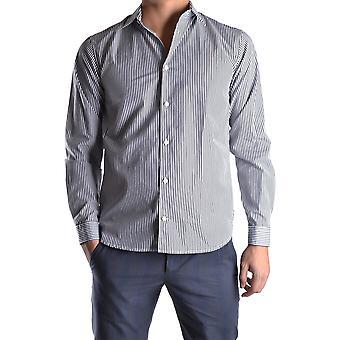 Marc Jacobs Ezbc062022 Men's Black Cotton Shirt