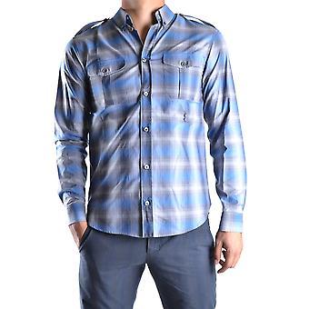 Marc Jacobs Ezbc062023 Uomo's Camicia di cotone blu chiaro