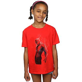 Marvel Girls Spider-Man Web Wrap T-Shirt