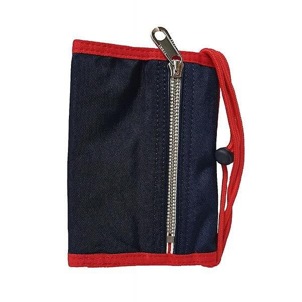 Tommy Hilfiger Wallet Pouch Logo Tape Crossover Navy & Red