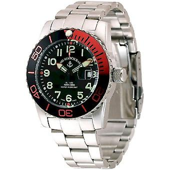 Zeno-watch mens watch airplane diver automatic, 6349-12-a1-5 M