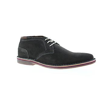 Unlisted by Kenneth Cole Real Deal  Mens Gray Suede Chukkas Boots Shoes