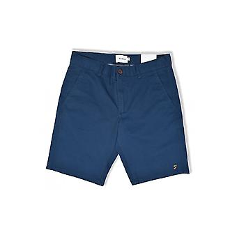 Farah Hawk Garment Dyed Shorts (Blue Star)