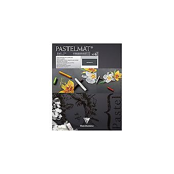 Clairefontaine Pastelmat Pad 360g Anthracite No6 | Sizes Listed