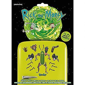 Rick And Morty Fridge Magnet Set