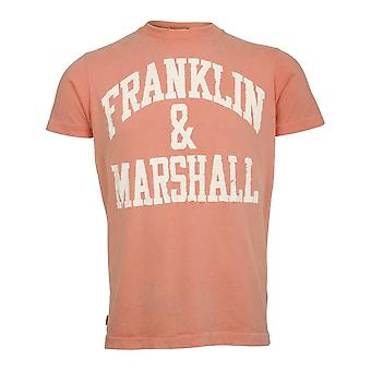 Franklin & Marshall Printed Logo  T Shirt