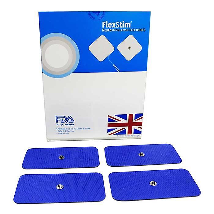 MED-FIT 5x10cm Pack van 40 flexi Stim 3,5 mm Stud TENS zelfklevend pads
