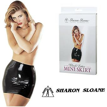 Sharon Sloane' Latex Mini skjørt (1908)