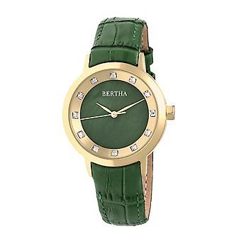 שעון עור ברטה ססיליה-שעונים ירוקים