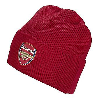 2019-2020 Arsenal Adidas Woolie Hat (Red)