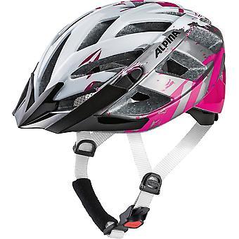 Alpina p 2.0 babcia rower hełm / / pearlwhite/magenta
