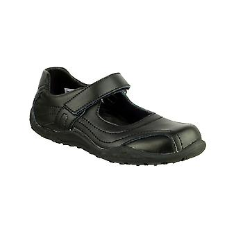 Mirak Kids Freya School Shoe Black