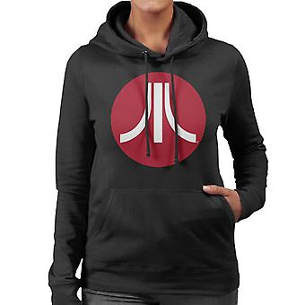 Atari Circle Logo Women's Hooded Sweatshirt
