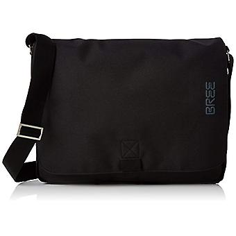 Bree Punch Style 49 Black Messenger Bag - Unisex Adult Schwarz Shoulder Bags (Black) 8x28x38 cm (B x H T)