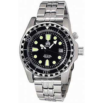 Tauchmeister T0257m Combat Diver automatic watch 1000 m