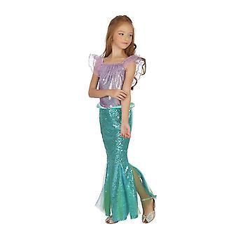 Bristol nieuwigheid meisjes zeemeermin jurk