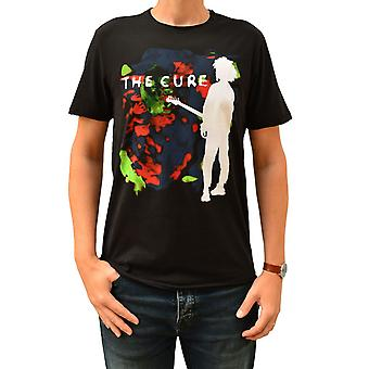 Amplified The Cure Boys Don't Cry Colour Splash Black Crew Neck T-Shirt