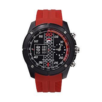 Fila Men's Watch Wristwatch DRUM ROLLER 38-845-002 Silicone