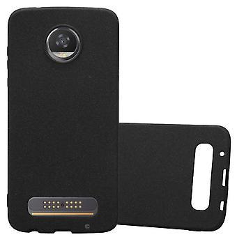 Cadorabo Case pour Motorola MOTO Z2 PLAY Case Cover - Mobile Phone Case made of flexible TPU silicone - Silicone Case Protective Case Ultra Slim Soft Back Cover Case Bumper