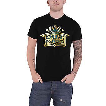 Outkast T Shirt Gold Logo new Official Mens Black