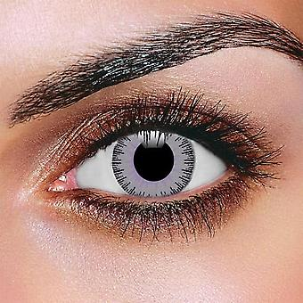 Fusion Violet & Gray Contact Lenses (Pair)