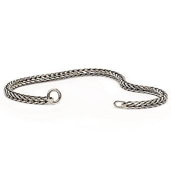Trollbeads Sterling Silver Foxtail Link Chain TAGBR-00002