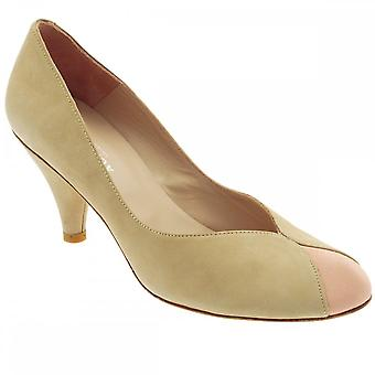 Audley Nude Women's Low Heel Court Shoe