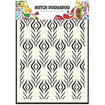 Dutch Doobadoo A5 Mask Art Stencil - Floral Feather 470.715.117