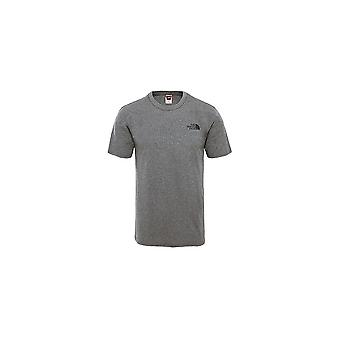 A North Face M SS Simple Dome Tee T92TX5JBV universal todo o ano masculino t-shirt