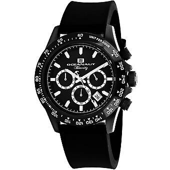 Oceanaut Men-apos;s Biarritz Black Dial Watch - OC6114R