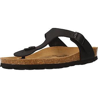 Gele winkel sandalen Arosas kleur zwart