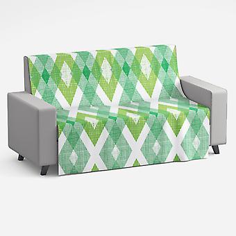 Meesoz Couvre-canapé - Diamonds Green II