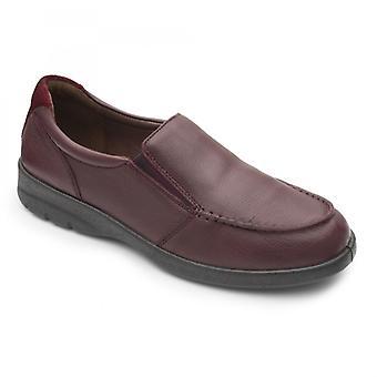 Padder s Comet Herren Leder regelmäßige (f Fit) Schuhe Raisin