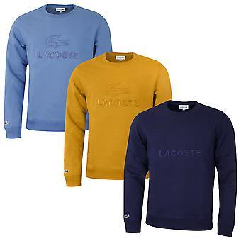 Lacoste Herren 2020 SH8546 gestickt Fleece Pullover