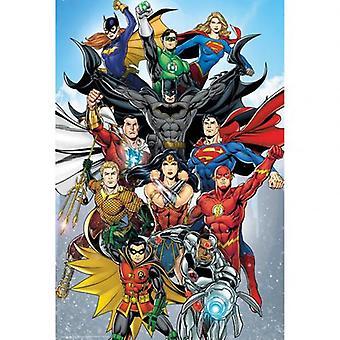 DC Комиксы Плакат Возрождение 249