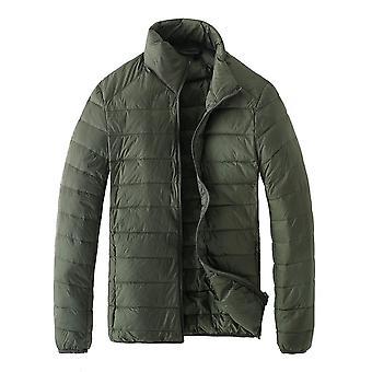 Allthemen Men's Light Weight Short Style Down Padded Jacket