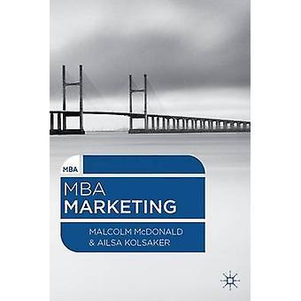 MBA Marketing by McDonald Malcolm