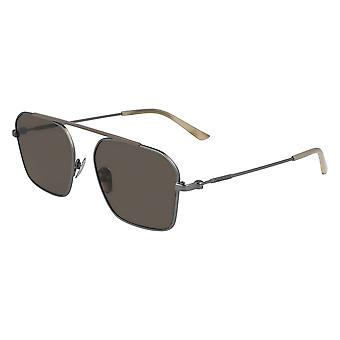 Calvin Klein CK19148S 008 Gunmetal/Brown Sunglasses