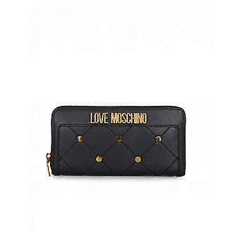 Αγάπη Μοσχίνο αξεσουάρ κουμπωτά πάπλωμα φερμουάρ γύρω από το πορτοφόλι