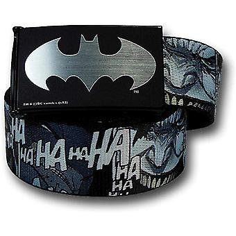 Joker Dark Knight Returns lachen Kids Web belt